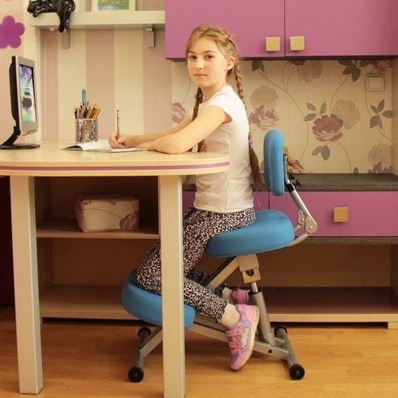 Удобный ортопедический стул для школьника профилактика патологий позвоночника