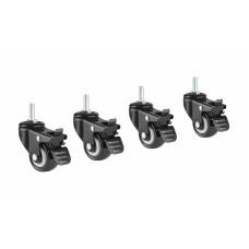 Колесики со стопорами для опор и столов OneTouch, EasyLife, OneTouch Mini