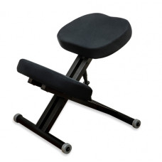 KM01 Black без чехла. Металлический коленный стул