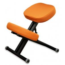 KM01 Black с чехлом. Металлический коленный стул