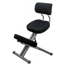 KM01BМ без чехла — металлический коленный стул со спинкой